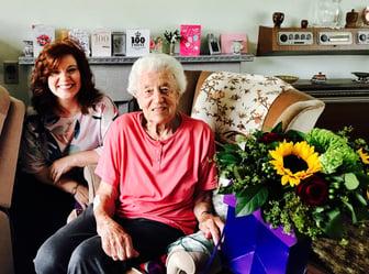 Phyllis 100th Flowers